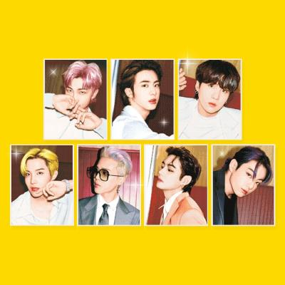 BTS CUBIC PAINTING_4 BTS D.I.Y. Toys Jewelry Cross Stitch