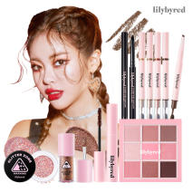 Lilybyred Opening Queen Look Eye Makeup Collection Glitter Shadow Palette Liner
