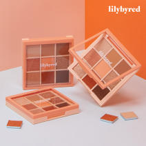 [ Lilybyred ] Mood Chi Kit Shadow Palette 01 Peach Eergy