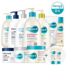 [Atopalm] Derma B daily moisture body lotion 400ml + lotion 50ml